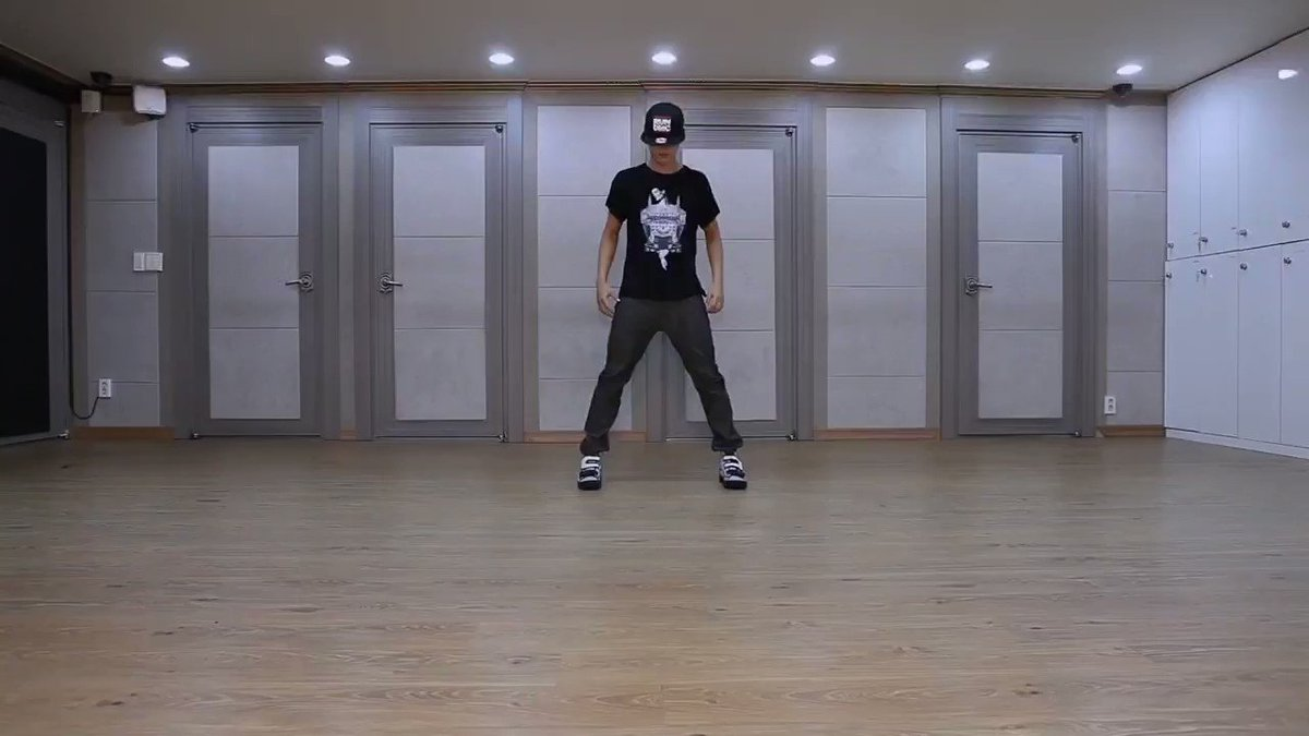This was your first dance practice. 8 years has passed and I really want to thank you for making this decision to join the group and now becoming our talented dancer❤️ #ThankYouJimin