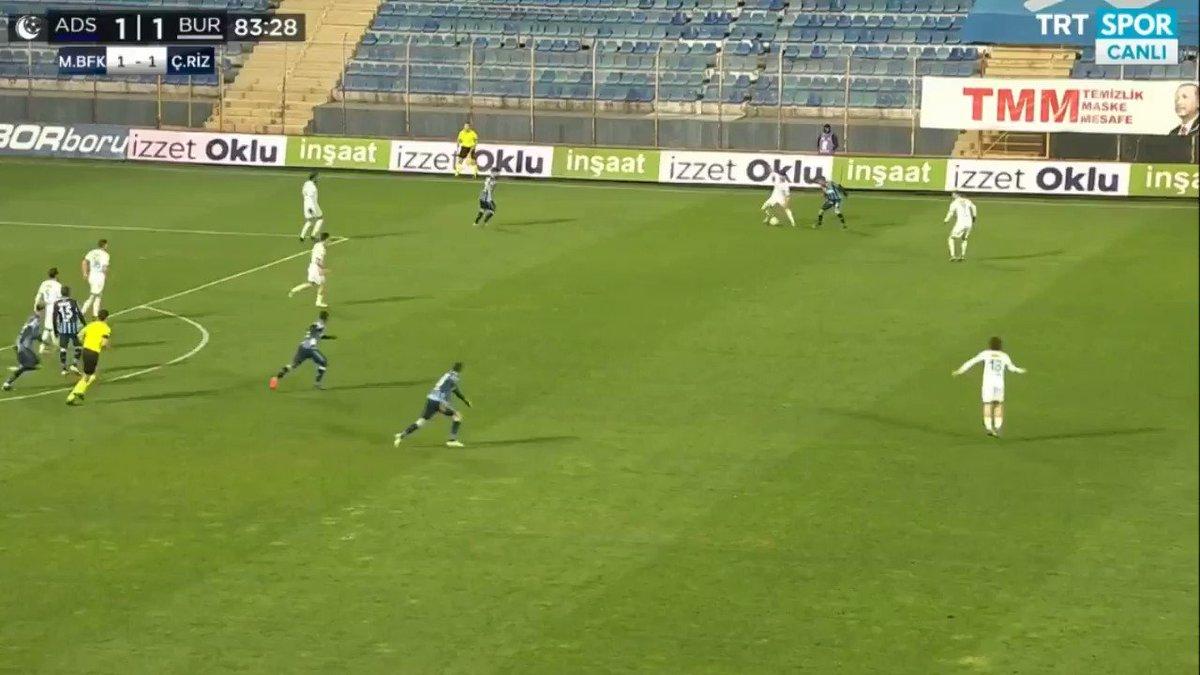 Adana Demirspor 1-2 Bursaspor ⚽️ Ali Akman https://t.co/QEzyKlUMS6