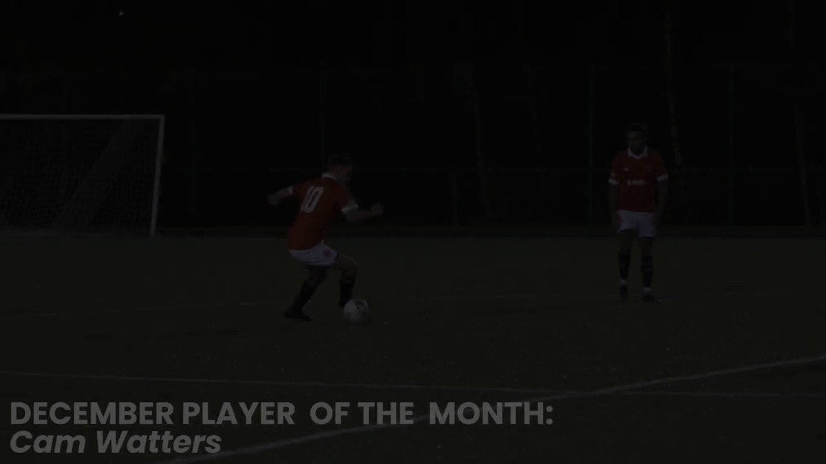 🔴 POTM - CAM WATTERS 🔴  A quick reel of why the midfielder has been awarded Player Of The Month for December...  #UpThePaddock