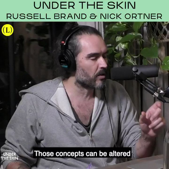 This week's guest on #UnderTheSkin is @nickortner, NYT Best-Selling Author and CEO of the Tapping Solution.   You can listen to the full conversation on @hearluminary now!