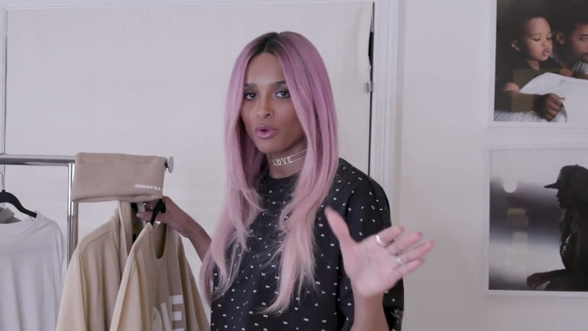 .@ciara breaks down her favorite pieces from her @AllHumanNation's collection!