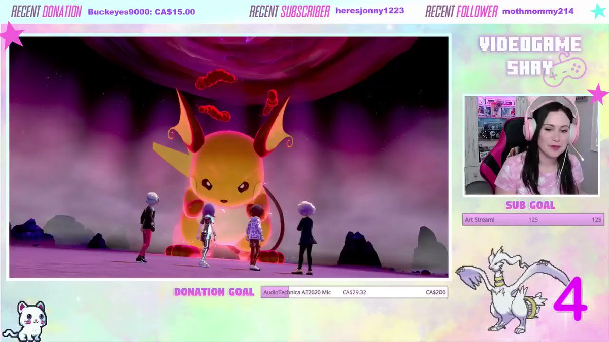 Quite possibly the worst shiny reaction aside from just throwing away the shiny altogether #shiny #pokemon #raichu #twitch #pokemonswordandshield