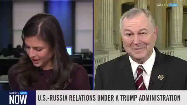 Bianna has been keeping close track of what's happening in Russia, as she always has.   You should follow her @biannagolodryga  Also, must take the opportunity to re-up one of my favorite TV news moments...when she interviewed Putin's favorite Congressman Dana Rohrabacher