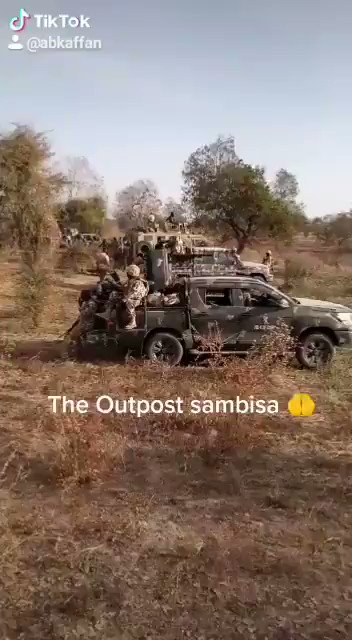 BREAKING: Troops of the Nigerian Military + MNJTF Troops finally entered the dreaded Sambisa & Alargano forest, headquarters of terror groups. The fighting spirit & troops morale reported to be very high. 2021 look like a bad year already for insurgents & their collaborators. 💪🏿