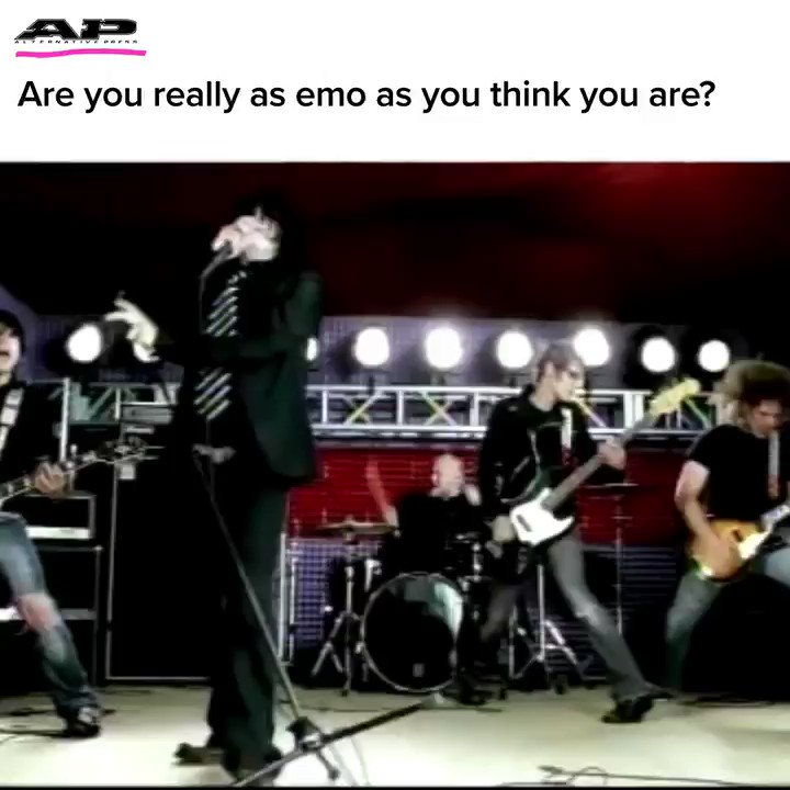 Are you really as emo as you think you are? 👀  Find out below 👇