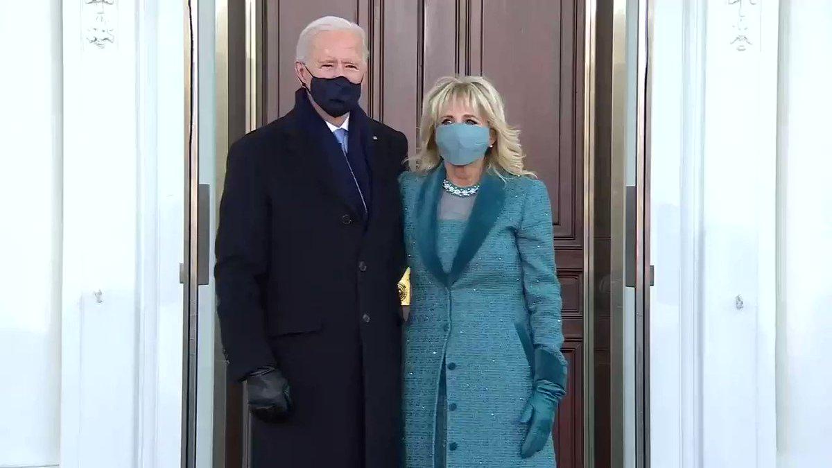Joe Biden was stuck outside of the White House after firing Donald Trump's doorman hours earlier. https://t.co/EUZQDZkvkU