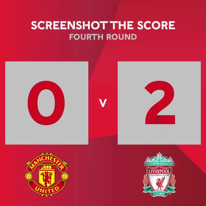 Replying to @EmiratesFACup: 𝐒𝐜𝐫𝐞𝐞𝐧𝐬𝐡𝐨𝐭 & 𝐫𝐞𝐩𝐥𝐲 🏆  @ManUtd 🆚 @LFC   The final score will be...  #EmiratesFACup