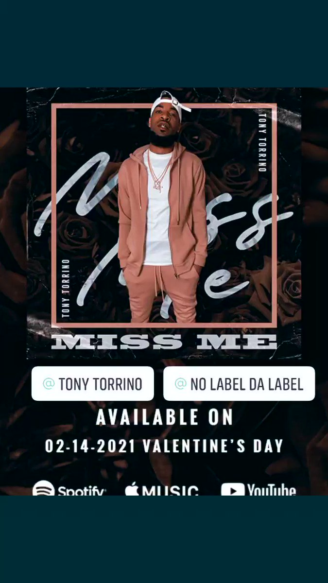 #NewMusic #NewMusicDaily #newmusiccomingsoon #NewRelease #HipHopMusic #valentinesday2021 #missme #TonyT #NLDL #Playlist #playlistchallenge