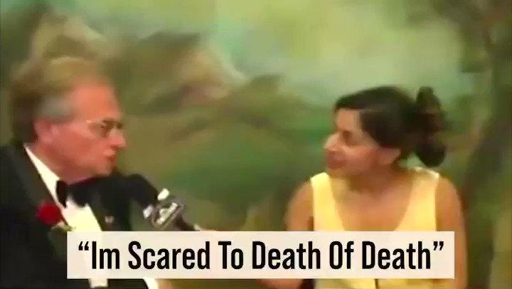 "RIP Legend Larry King @kingsthings 'I'm scared to Death of Death"" #fame #famebysheeraz #sheerazhasan #sheerazinc #sheeraz #larryking #cnn"