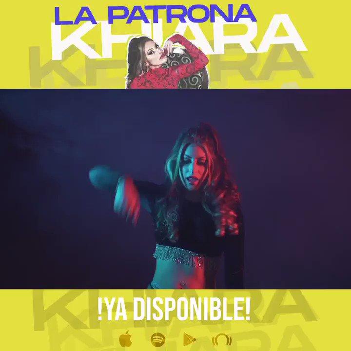 Ya está disponible mi nuevo #single  #LaPatrona !!!🔥⚡ Si os gusta dadle like y comentar en @YouTube con lo que te ha parecido y compartidlo!🙏🏼💖🎶😍 @musichitfactory 🎶✨ #girlpower #music #Musica #musicaurbana #Reggaeton
