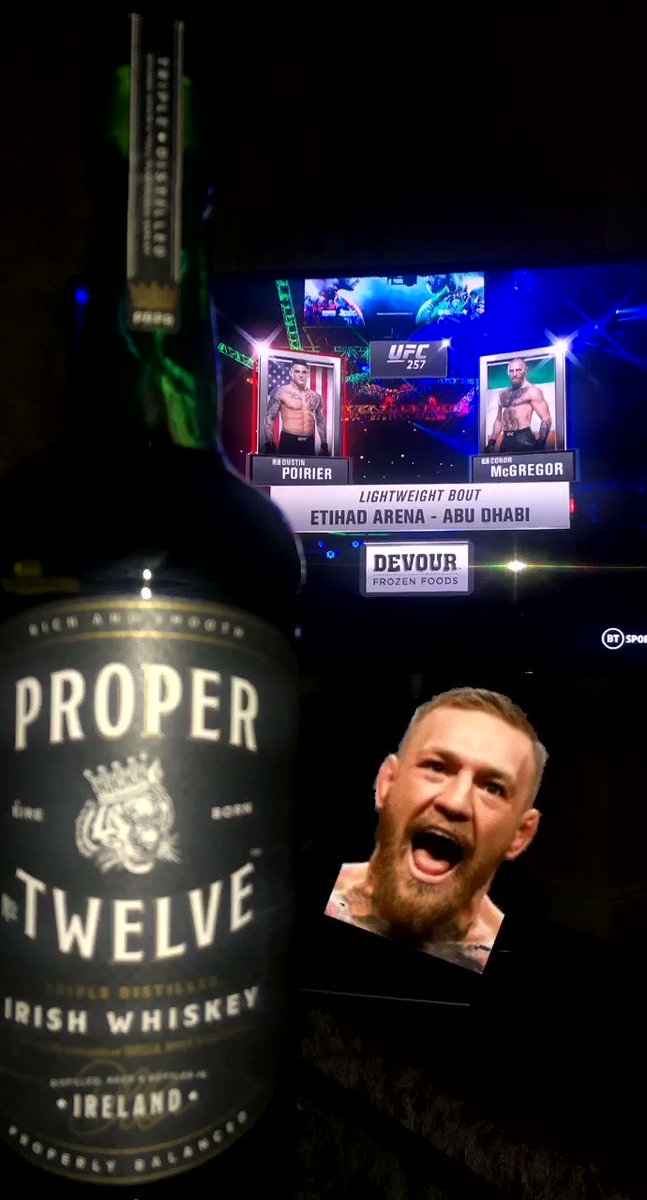Mon the McGregor! 🇮🇪@TheNotoriousMMA #UFC257 #UFCFightIsland #McGregorvsPoirier2