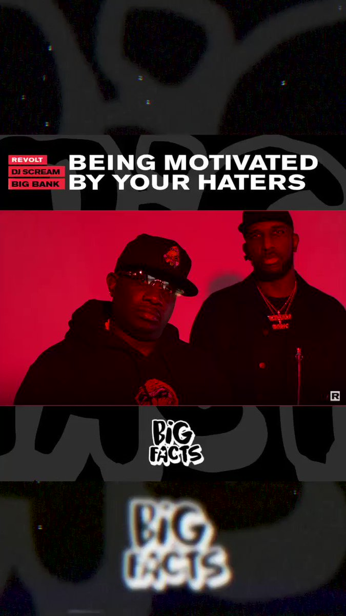 Are haters a motivation to go harder? The #BIGFACTS crew debates haters being a motivation, people's true colors & having money vs. being broke ✔️🗣 @BIGFACTSPOD @DJSCREAM @BABYJADE1 @BigBankDte   Watch here 👇🏿
