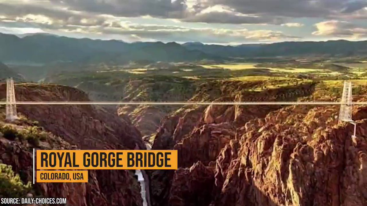 Even at the edge of the world, humans will find a way to trudge forward. And these incredible and dangerous #bridges signify how #innovation & use of #technology has made commuting simpler.  #dangerous #sundayvibes #SundayThoughts