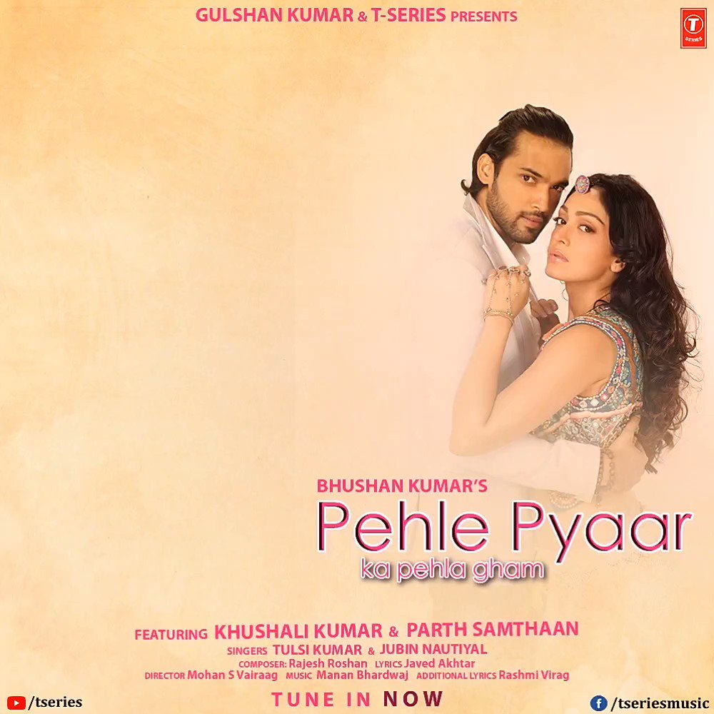 You are curious to know what happens next, aren't you? Watch the newest video #PehlePyaarKaPehlaGham to find out the complete story. Tune in now:   #tseries #BhushanKumar @KhushaliKumar @LaghateParth @TulsiKumarTK @JubinNautiyal #MohanSVairaag