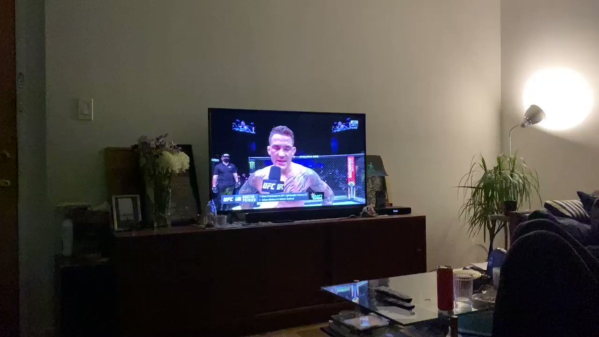 WTF is Nucleus streaming this? FU Galvin Belson #refund #UFC257