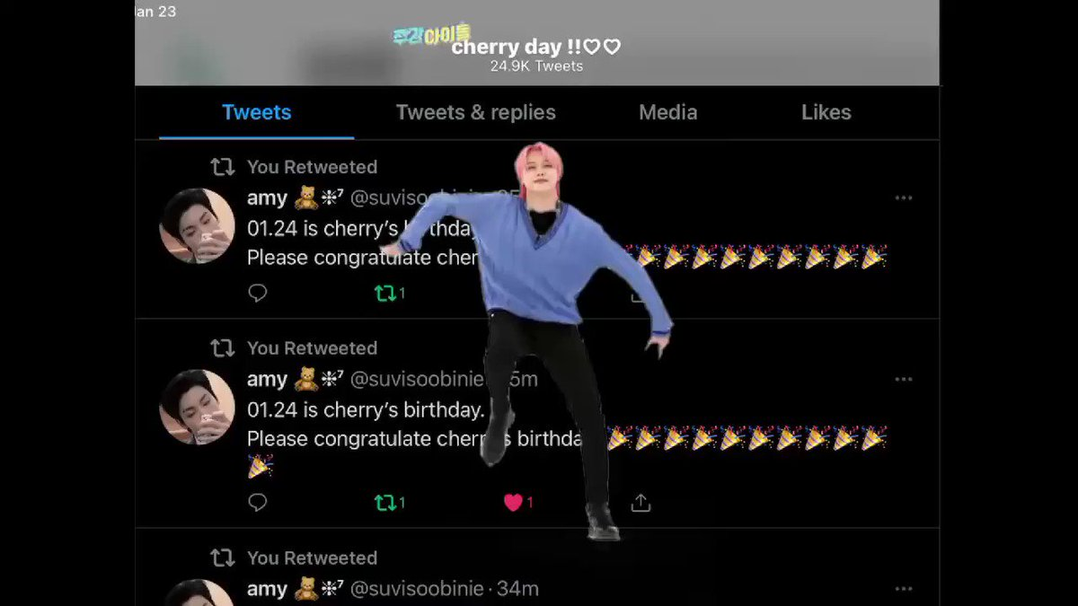 ive decided to go to sleep so i don't wake up late so i can call cherry for hours tomorrow goodbye #CherryBirth #CherryDay  #CherryBirthday #CherryOurBeloved #Cherry #CherryOurDearHag #CherryOurHagWithBackProblemshavent