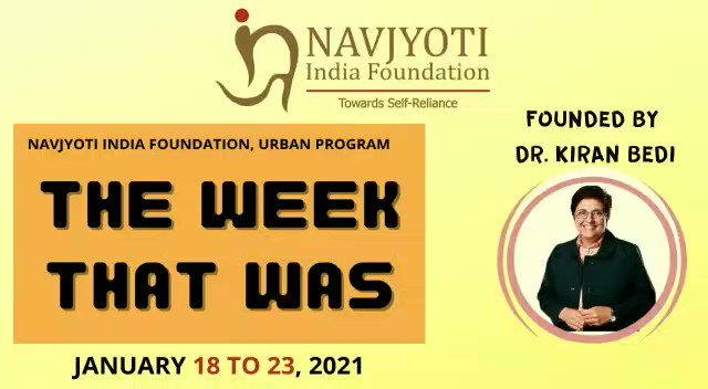 Working with urban grass roots.  The week that was. @NavjyotiIF @neetusjoshi