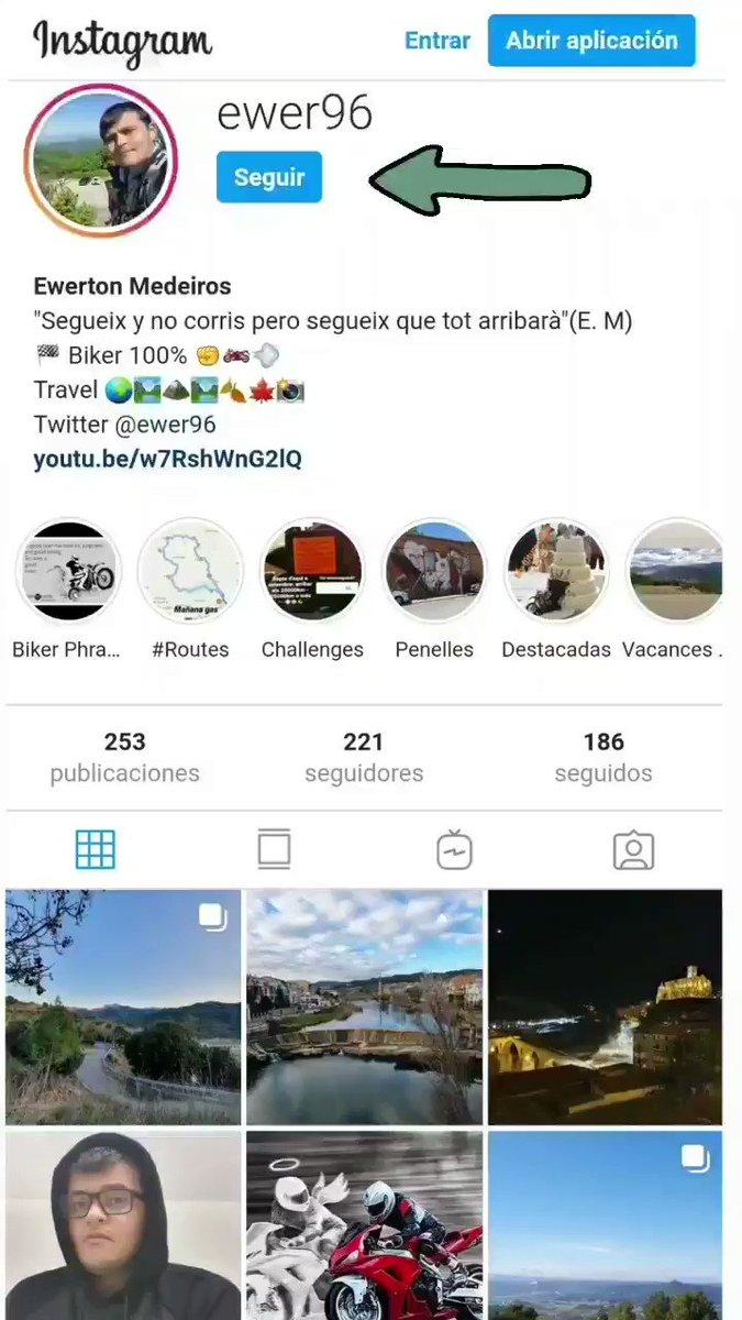 #followme #instagood #follow