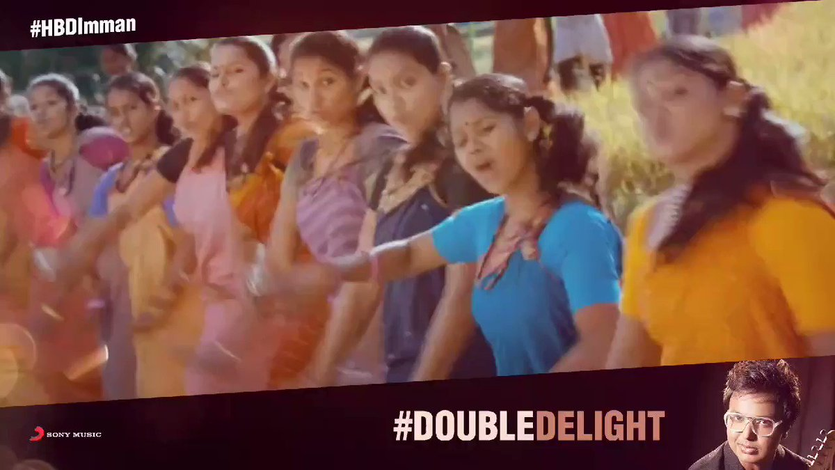 Celebrating our ever-loved @immancomposer 's birthday on our #DoubleDelight series! ❤💯   ➡️   #HappyBirthdayImman