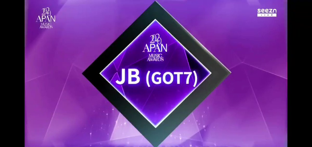 ยินดีกับเจบีด้วยนะ🎉🎉🎉💚  #GOT7TopArtist #BestAllRounderJAYBDef  #GOT7     #IGOT7     @GOT7Official