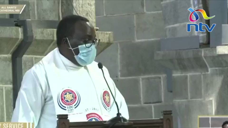 Mr. President, what are you telling Kenyans when you confess such [KSh. 2B is looted daily]? That you are defeated? ~ Rev. Sammy Wainaina - Provost, All Saints Cathedral    🎥: All Saints Cathedral