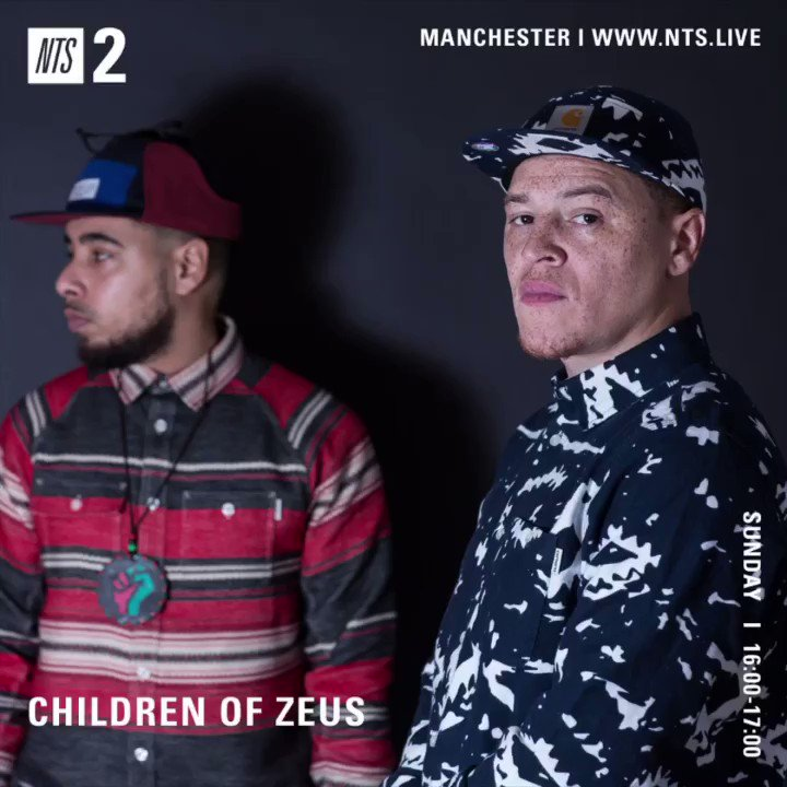 Children of Zeus radio show is back today on @NTSlive (channel 2)at 4pm uk time! Lots of new soul/hiphop/alt R&B. Hands who's listening?