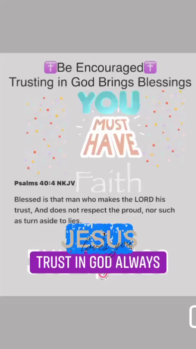 #SundayBrunch #MondayMotivation #MotivationalQuotes #InspirationalQuotes #SundayVibes #Quotes #QuoteOfTheDay #BibleQuotes #IQRTG #SundayMorning #VerseOfTheDay  . Trusting in God brings blessings…