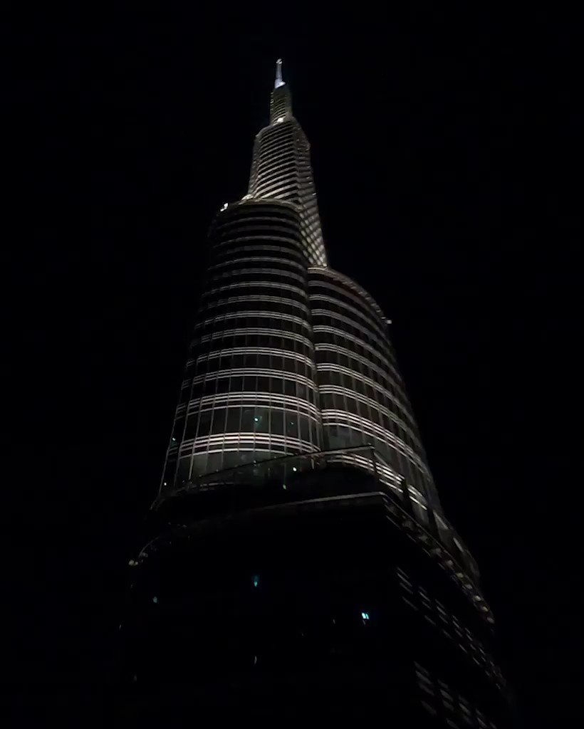 Up-close and personal with the world's tallest building.  #BurjKhalifa #MyDubai #FlyEmiratesFlyBetter  🎥 Andre Larsen
