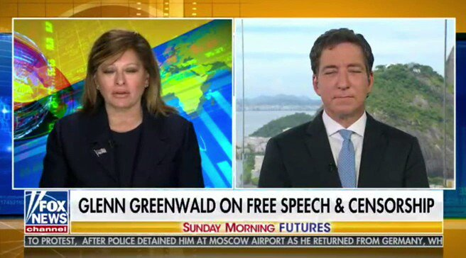 Here is @ggreenwald on FNC talking about declining trust in traditional media and related issues