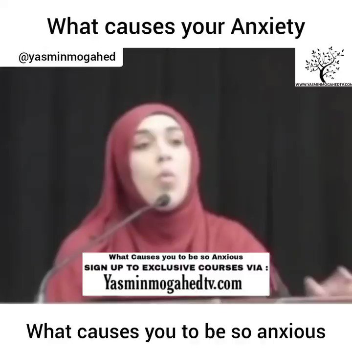 What causes you to be so anxious.