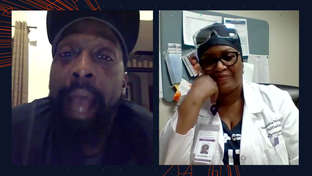 """""""You're going to the Super Bowl!""""  @peanuttillman surprises Chicago-area healthcare heroes to tell them they are heading to #SBLV! @ChicagoBears (via @AdvocateAurora)"""