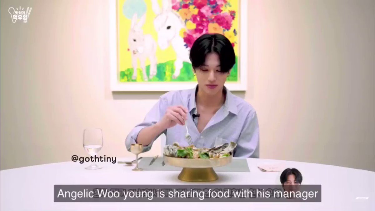a short compilation of #WOOYOUNG's cutest habit 🥺