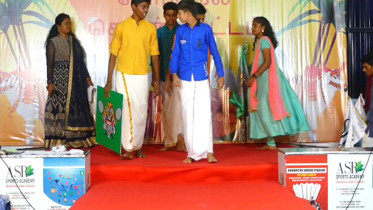 ABL Pongal kondattam Kilpauk cheetahs  ramp walk  #Badminton  #2021calendar  #team #Picoftheday  #Inaguration #pongal #trending #games #Shuttle #Fun #tournament #Winners #BadmintonwithASR