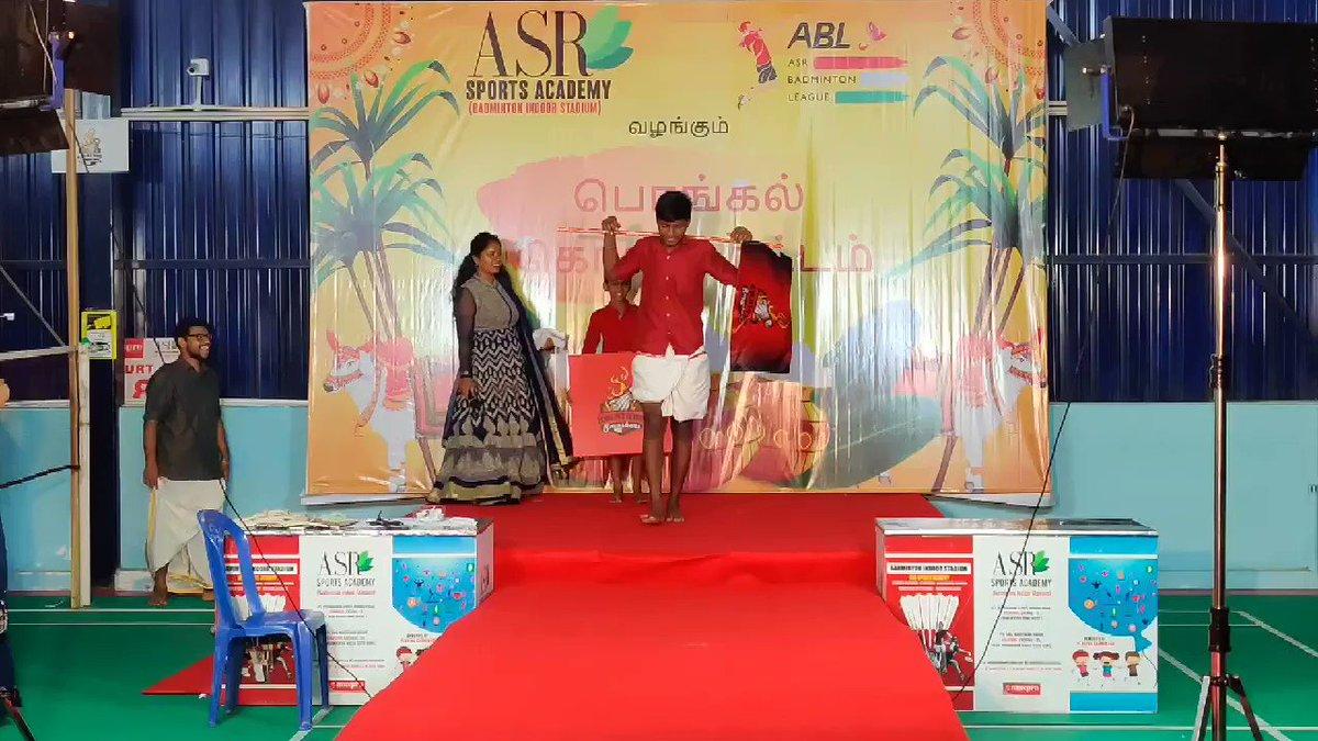 ABL Pongal kondattam koluthur Smashes  ramp walk  #Badminton  #2021calendar  #team #Picoftheday  #Inaguration #pongal #trending #games #Shuttle #Fun #tournament #Winners #BadmintonwithASR
