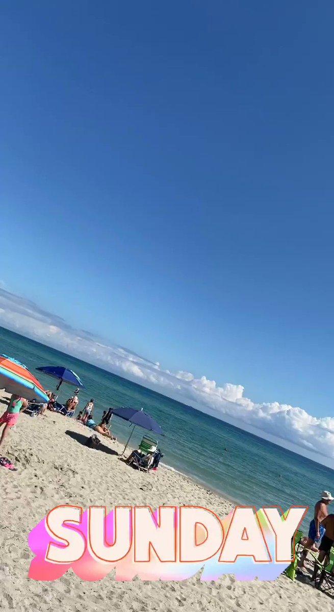 SoFlo ☀️🌊🌊 #sundayvibes #beach #funinthesnow