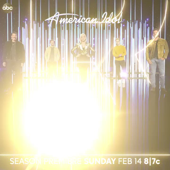 The premiere of @americanidol will be here before you know it! 🌟 Valentine's Day 8/7c on @abcnetwork!