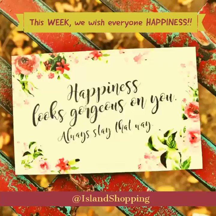 @IslandShopping . #weekendvibes #Monday #goodmorning #blessed #happiness #JOY #ThankU #thankful #protected #Healing #healthy #Inspiration #motivational #Christians #God #pray #goodNews #hope #love #peace #Amen