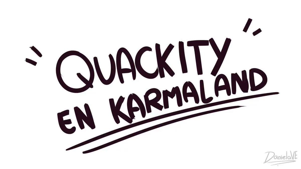 Quackity en Karmaland ANIMATIC¿?! ✨👁️👁️  #KarmalandFanart #QuackityFanart #animatic  (El audio es editado, esto no paso en realidad KJDLSF 💔 PeroValeLaPenaSoñar¿)