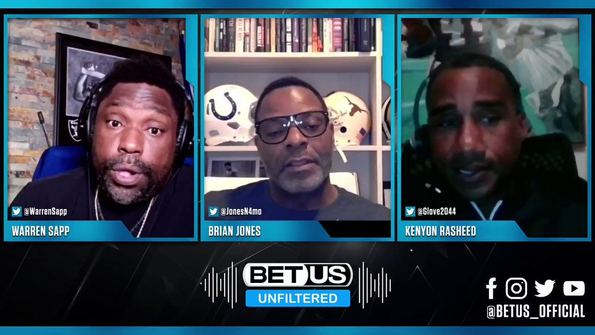 #WhatToWatch - It's #GameTime so get #NFCChampionship picks on this clip from @WarrenSapp & @JonesN4mo on BetUS Unfiltered #016! Full episode on YouTube  Bet on odds below at  @Buccaneers at @Packers -3  #AmericasFavoriteSportsbook