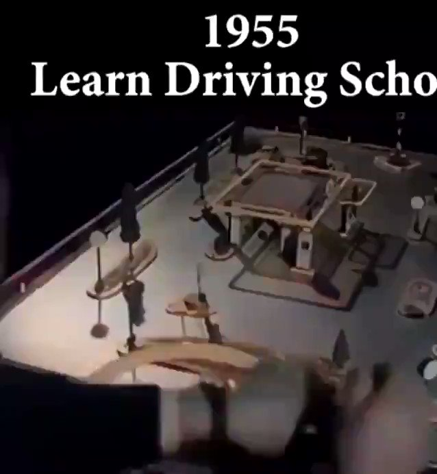 Replying to @memayowa1: In 1955, This was how we learnt Driving. @Gidi_Traffic   - HOW DID YOU LEARN HOW TO DRIVE?