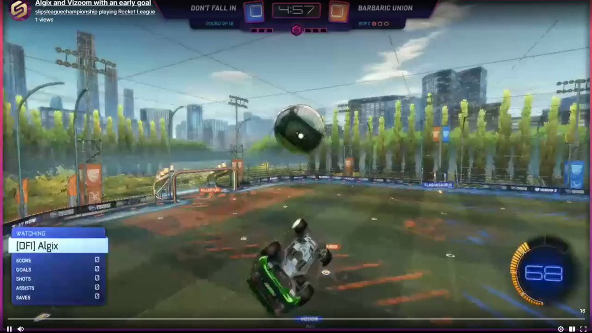 With an early goal from @AlgixRL and Vizoom, it's not a surprise that this game ended 7-1 #RocketLeague #eSports