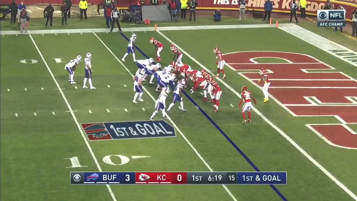 Wide open!  9 - 0  #BillsMafia #ChampionshipSunday #AFCChampionship #NFLPlayoffs #Chiefs #Bills #ChiefsvsBills #BillsvsChiefs #KC #ChiefsKingdom #NFL #SuperBowl #NFLPlayoffs #GoChiefs #GoBills