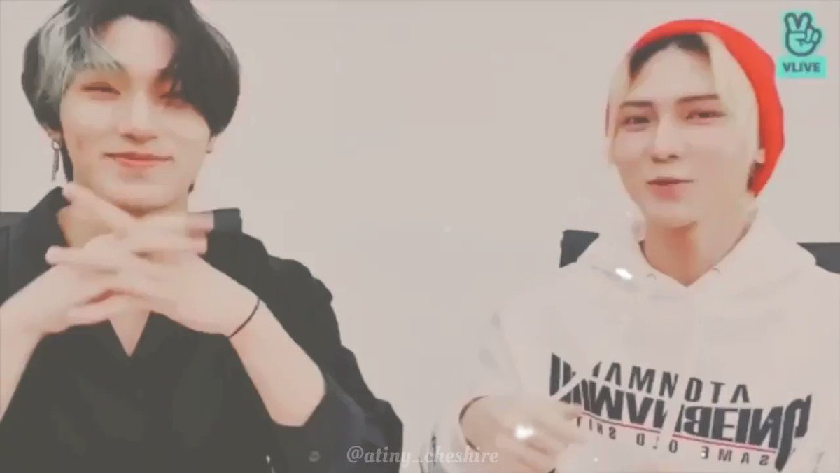 Since San sang Justin Bieber's love yourself in his latest vlive, I couldn't resist combining both his and Yeosang's (ft seonghwa's) cover of the same song .   [ #ateez #sansang #yeosang #san #에이티즈 #산상 #낫여 @ATEEZofficial ]