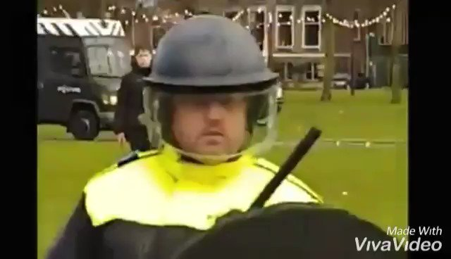 Anti-lockdown rioters clash with Dutch police in the Netherlands – video Photo