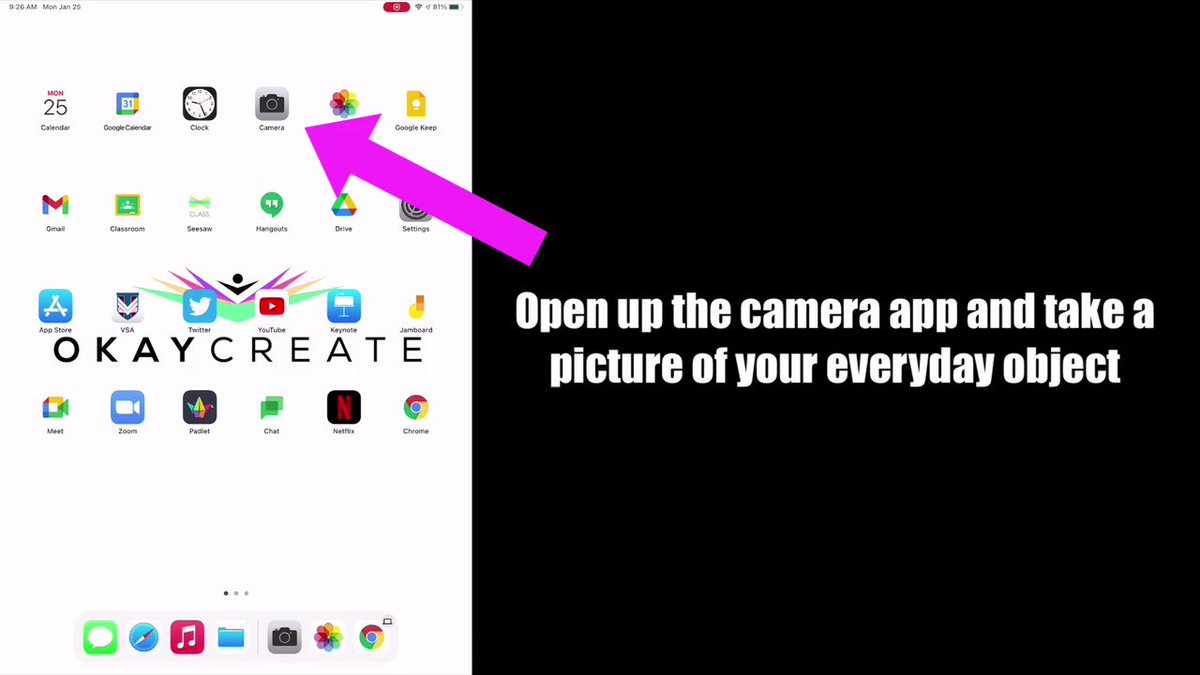 To support our Y1 #HWEO #UOI all #edtech integration will be facilitated through @Seesaw for our Ss in 🇭🇰&🌏  Using an idea from the #EveryoneCanCreate series, Ss will create digital art by bringing an inanimate object to life  Enjoy the instruction 🎥⬇️  @AppleEDU #AppleEDUchat