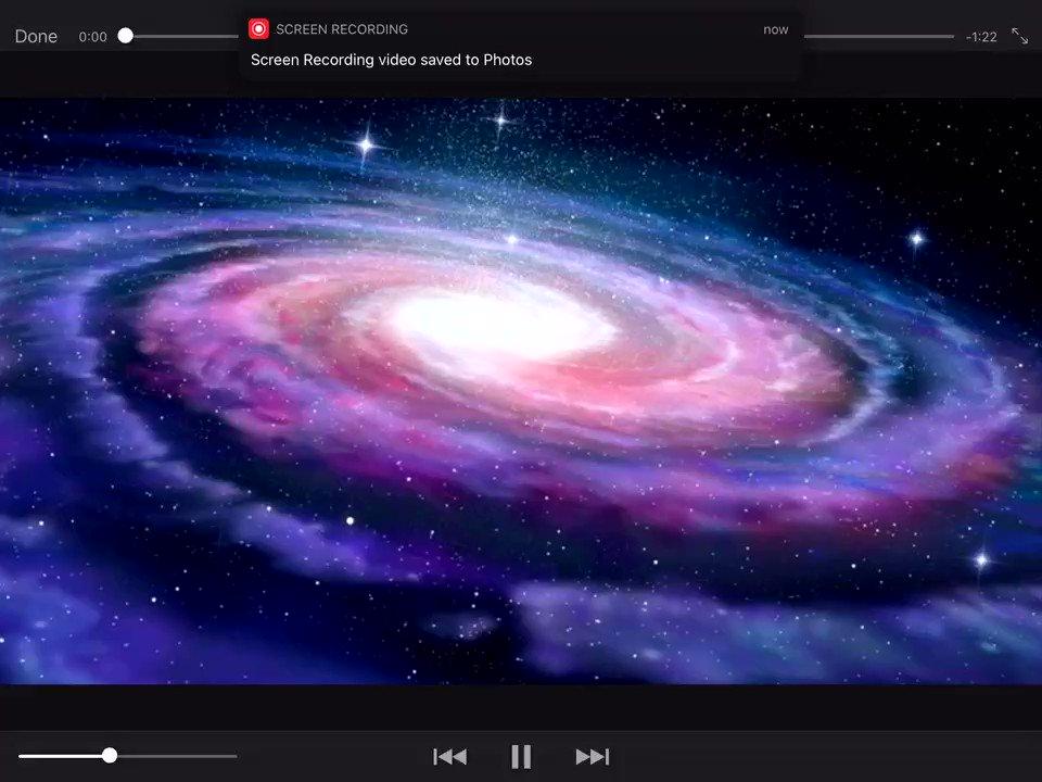 A trip to Galaxy using Apple Liveloops and Apple iMovie #ReptonADYr5 #Appleeduchat #Everyonecancreate #Apple