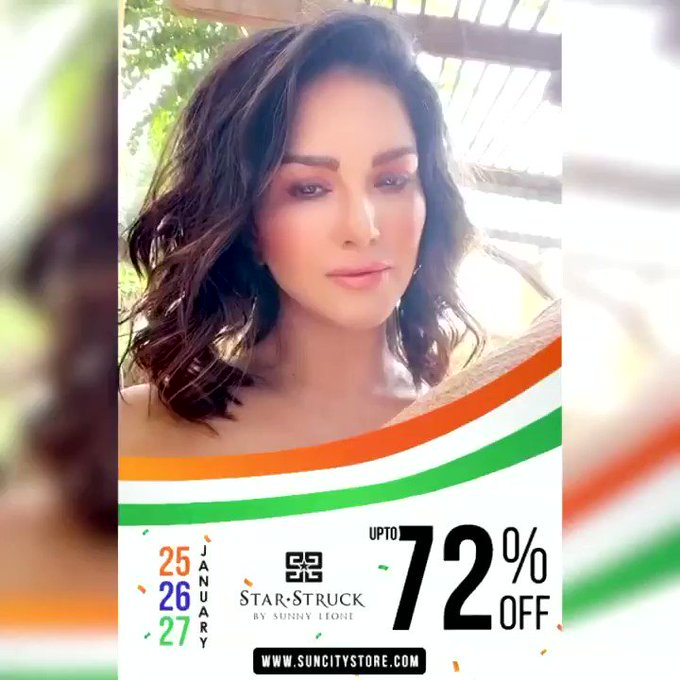 ✨🇮🇳#RepublicDaySale🇮🇳✨  In honour of our 72nd Republic Day, @starstruckbysl is offering upto 72% OFF