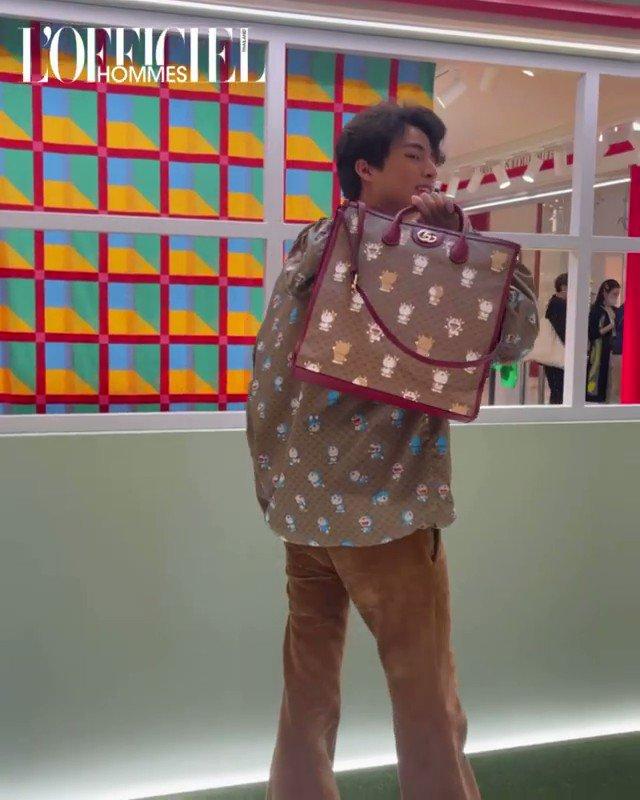 หนึ่ง ฉอง ฉาม เอ้าาหมุนนน เป็นสกิลจสกตอนเด็กๆที่คูมแม่ส่งเรียนบัลเล่ต์ฮะ  #Gulfkanawut  #DoraemonxGucci