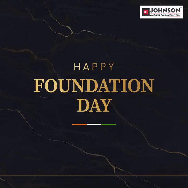 "With a vision to transform lifestyles, H & R Johnson (India) started its ""#MakeInIndia"" journey on this day in 1958! We thank all our channel partners, dealers and valuable customers for being a part of our amazing journey. Celebrating 63 years of excellence.   #FoundationDay"