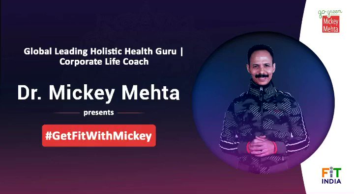 Every woman has powerful skills to thrive & flourish within...  Dr. Mickey Mehta's 'Woman The Healer' Begins✨  Let every woman get prioritized... for your life to get #Mickeymized!!!  #GetFitWithMickey #empoweringwomen #NewIndiaFitIndia #fitindiamovement #MickeyMehta
